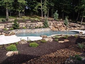 Baker Pool Construction Rustic Retreat