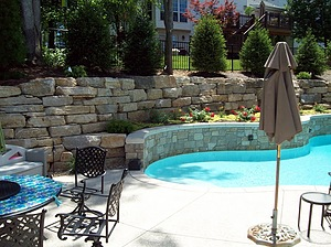 Baker Pool Construction Of St Louis Retaining Walls