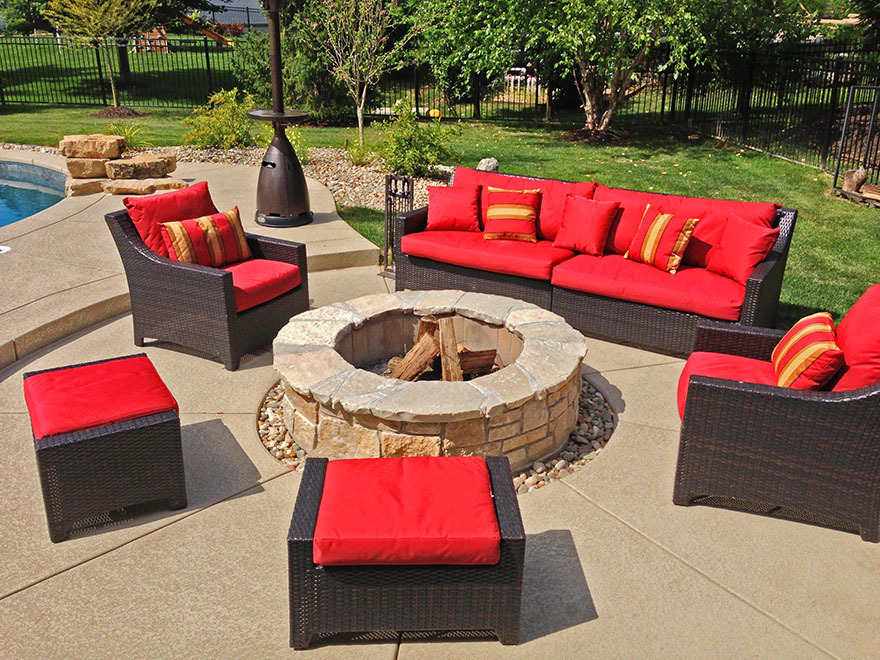 Peachy Baker Pool Construction Outdoor Furniture Beutiful Home Inspiration Ommitmahrainfo