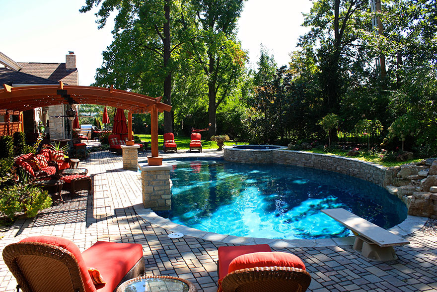 Baker Pool Construction Outdoor Furniture, Outdoor Furniture St Louis Mo