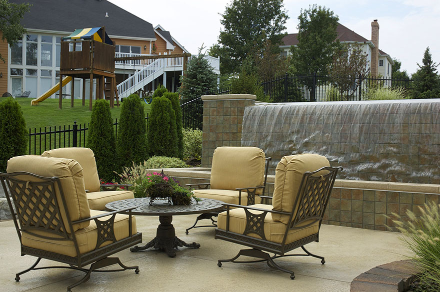 Baker Pool Construction Outdoor Furniture, Outdoor Furniture St Louis