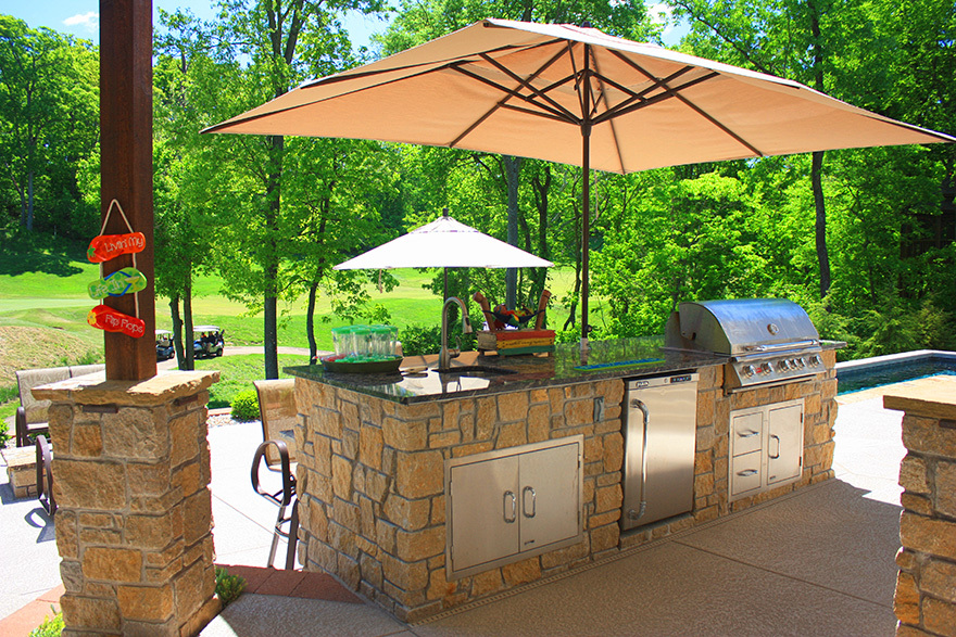 Baker Pool Construction Of St Louis Custom Outdoor