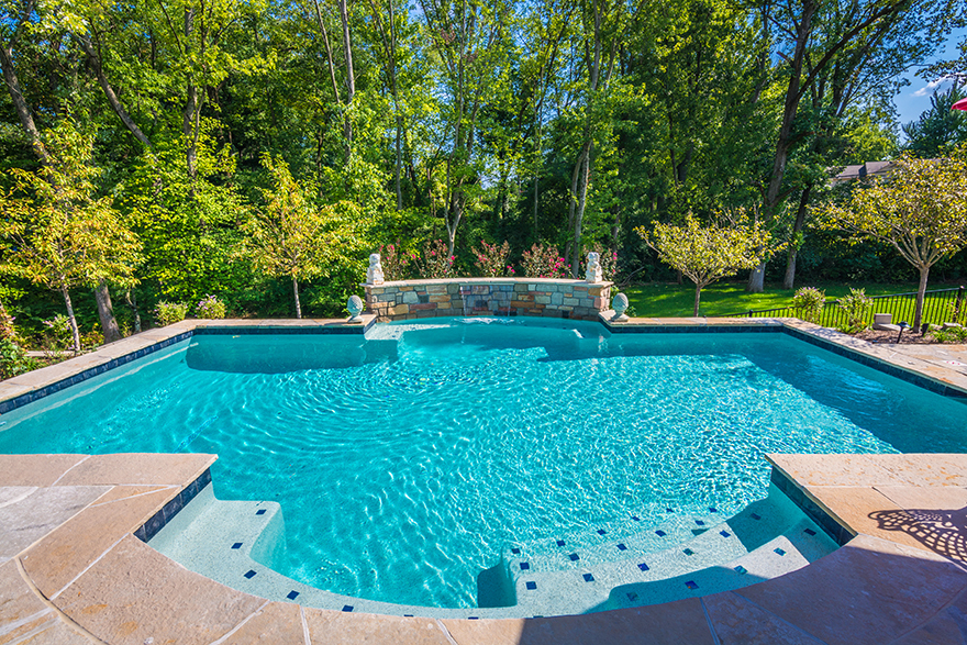 St Louis Custom Pools Gallery Baker Pool Construction