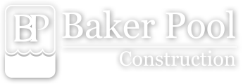 Baker Pool Construction Logo