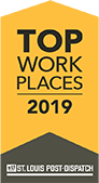 Top Workplace 2019 ribbon badge